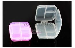 Wholesale DHL thick green transparent grid portable kit double six week kit portable kitr