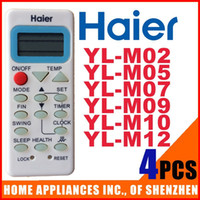 Wholesale Haier Air Conditioner Remote Control YL M02 YL M05 YL M07 YL M09 YL M10 YL M12 Split Portable Air Conditioner