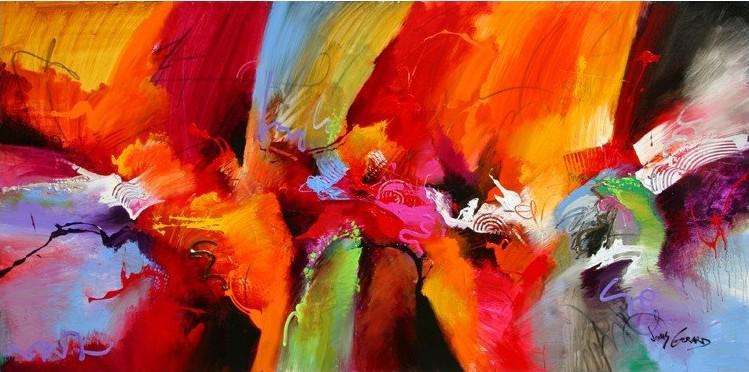 Big Size Abstract Oil Painting on Canvas Handmade High Quality ...