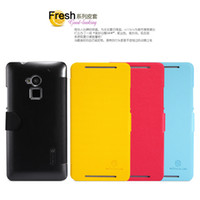 For Apple iPhone TPU Yes 2013 Brand New Thin Flip PU Leather Case for HTC One Max T6 Case Cover 8088 High Quality with Retail Packaging