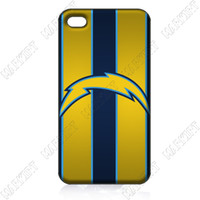 For Apple iPhone Metal Yes ILC1580San Diego Chargers Logo 10 pcs lot case cover for iphone 4 4s 4th wholesale retail free shipping for bulk order