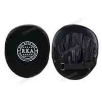 Wholesale 6pcs Boxing Mitt Training Target Pad Synthetic leather surface Focus Punch Pad Glove MMA Karate Muay Thai Kick TK0930