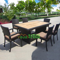 Wholesale Outdoor Leisure Hotel Chair Set clubhouse outdoor café tea PE rattan living room Hotel Business
