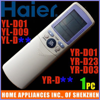 Wholesale Haier Air Conditioner Remote Control YR D01 Compatible For Hair Remote Control YR D01 YR D23 YL D01 YL D09 YR D03 YR D YL D