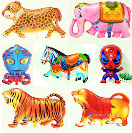 Big Size Cartoon Inflatable Pet Animal Foil Balloons For Birtday Party Decoration 20 Styles Choose Free Shipping