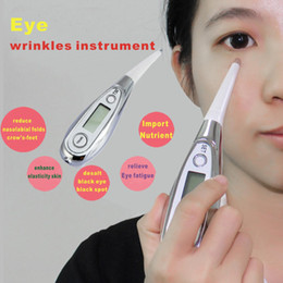 Wholesale Galvanic Anti wrinkle pen facial Care eyeliner Remove Eye end grain Eliminate pouch Facial Pore Cleanser Blackhead Acne Cleaner Face Acne