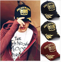 Wholesale Hip Hop Adjustable Snapback Hat cap ball cap baseball caps baseball hat man s women s hat lovers embroidery sun hat fashion cool