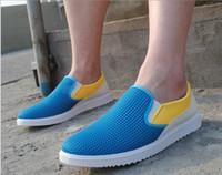 Wholesale Retail Korean Lazy shoes summer breathable mesh shoes men shoes casual men s shoes student sandals pair B