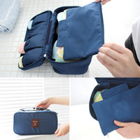 Wholesale Underwear Storage Bags Bras Bags Panties Socks Storage Case Waterproof Travel Portable Storage Box amp Bra Case