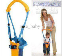 Wholesale Moon baby Walkers Infant Toddler safety Harnesses Learning Walk Assistant Kid keeper