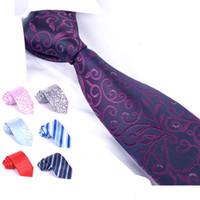 Neck Tie Woven Men 15 colors men's ties men's Business tie shirt silk tie mens ties dress ties wedding ties