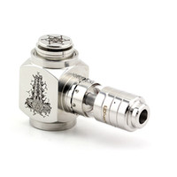 Silver Metal  Stainless Hammer Mod eCig Clone Pipe Kit Mechanical Epipe MOD Clone Box mod Hana BOX Cigarette Mod