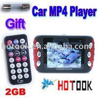 "MP3/MP4 Players,Radio Tuner,MP3 Players, Guangdong China (Mainland) CMP44 Wholesale 2.4"" screen 2GB Car audio Car MP4 MP5 Player x 25 pcs -- ship via express"