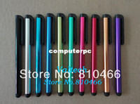 Wholesale 100pcs Capacitive touch screen pen stylus Pen for iphone s c ipad air Samsung galaxy Note III touchpen