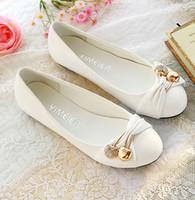 Wholesale women s fashion shoes flat shoes large size female ballet shoes