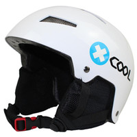 Wholesale Top Quality Skiing Snow Skateboard Freeride Winter Sport Helmet Headgear Adult Men Women ABS EPS Windproof Protective Gear Black White