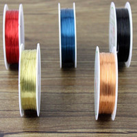 Other Jewelry Findings Cords 3 Meter DIY Bead Wrap Jewelry Copper Colored Craft Wire