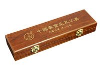 Ear Candle Days Arts hlmhz Genuine brand imitation rosewood day arts professionals Ear Tool Box Box Sichuan Yangzhou with a rubber band in the long 20CMLF0401