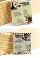 animal stapler - 12pcs box Animal Shape Paper Clip Bookmarks Binder Clips Stapler Cartoon Paperclips Children s toys