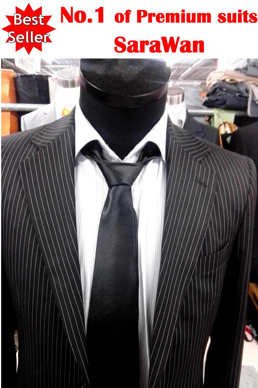 Custom Made Men Suit,White Stripe Mens Tuxedos,Black Mens Wedding