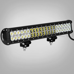 Wholesale Free Ship quot W CREE LED Light Bar Jeep Truck Trailer x4 WD SUV ATV Off Road Car v Work Working Lamp Pencil Spread Beam DRIVING BAR