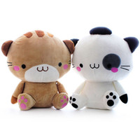 Unisex animal cell games - 2design japan san x kawaii decoration fuzzy figure toy sushi cat cell phone charm soft toy doll plush animal Valentine s day