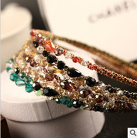 Wholesale Ks Style Fashion Jewelry For Women Crystal Hairbands Glitter Headbands Hair Accessories