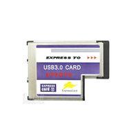 Wholesale USB Hidden Inside Adapter Gbps Port Express Card mm Slot PCMCIA USB HUB Converter for Laptop Notebook