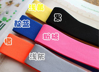 Wholesale mm Colored Elastic Ribbon yards Colors Elastic Stretch Webbing Belt Material and retail