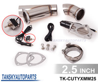 Wholesale 2 quot Electric Cutout E Cut Out Valve System W O Remote for Exhaust Catback Downpipe TK CUTYXMM25