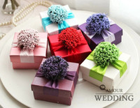 Favor Boxes Purple Paper Starry Personalized Candy Box Creative Candy Box Candy Box Wedding Supplies Favor 02