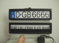 530 auto license plate frames - Car license frame Auto licence cover Vehicle Licence Plate Frame Plastic Stealth Remote Auto Car Licence Plate