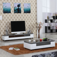 Aluminum painted furniture - Fashion paint furniture tv cabinet brief modern tv cabinet tv cabinet coffee table