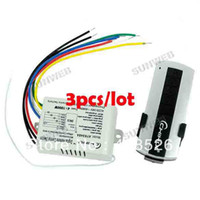 Wholesale 3pcs Wireless Port Light ON OFF V V Remote Control Switch Transmitter TK0667