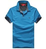Men Short Sleeve 100% Cotton Wholesale new arrival Hot model brand top quality casual cotton polo shirt lapel summer Korean wild male short-sleeve T-shirt S-XXL
