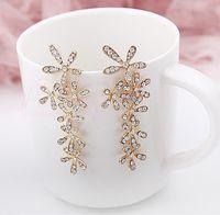 Ear Cuff african jewelry designers - New crysta CC brand earrings fashion korean statement earrings designer cuff earrings for women jewelry RC140561
