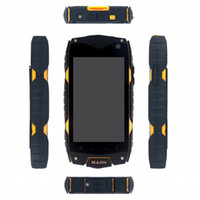 Wholesale New IP68 G Rugged waterproof Android Phone Original Mann Zug Qualcomm Dual Core GSM G Android Wifi GPS S5 i9600 s4