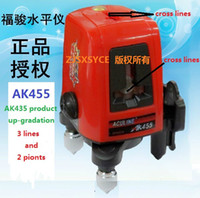 Wholesale Line Point AK degree Self leveling Cross Laser Level Red HOT SALE Level Laser Level Tools