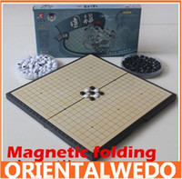 Wholesale chess board is sheathed Gobang magnetic folding new top sale