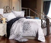 Woven 4 pcs Home,Other Black white butterfly satin wedding comforter bedding set king size queen for adults comforters duvet cover bed sheet bedspread