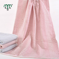 rectangle 100% Cotton Bath Towel Baby Gauze Breathable Towel also as women's Chest Wrap Soft and Quick-drying Free shipping