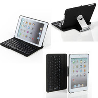 Wholesale 360 Degree Swivel Rotating Bluetooth Keyboard Stand Case for iPad Mini Mini Retina ipad air