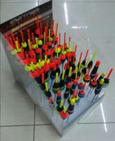 Wholesale new wood fishing driftwood floating bobbers drift lakes rivers hand sea amphibious fishing float sets tackle