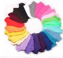 Wholesale High Quality Women Cotton Sweet Ship Socks Short Girl Invisible Socks Thin Ankle Sock For Ladies
