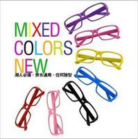 Wholesale Fashion Sunglasses Frames Without the lens plastic sunglasses frames mix colors