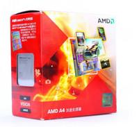Wholesale AMD A4 Chinese original box clocked GHz Socket FM1 Socket