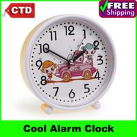 Mechanical Alarm Clocks Digital Students Cute Cartoon Quartz Movement Alarm Clock Table Clock,