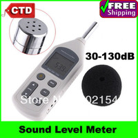 Wholesale By Post And Retail High quality GM1357 Digital Sound Level Meter Decibel Logger Tester dB