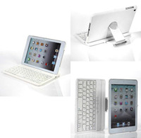 360 keyboard case - New Degree Rotatable Swivel Wireless Keyboard With Bluetooth Stand Case For apple ipad mini ipad mini2 Retina ipad for ipad air