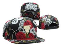sport companies - Skull And Roses Color Negra Snapback Company New Arrived Snapback Hats Baseball Caps Football Caps Adjustable Caps Sports Caps